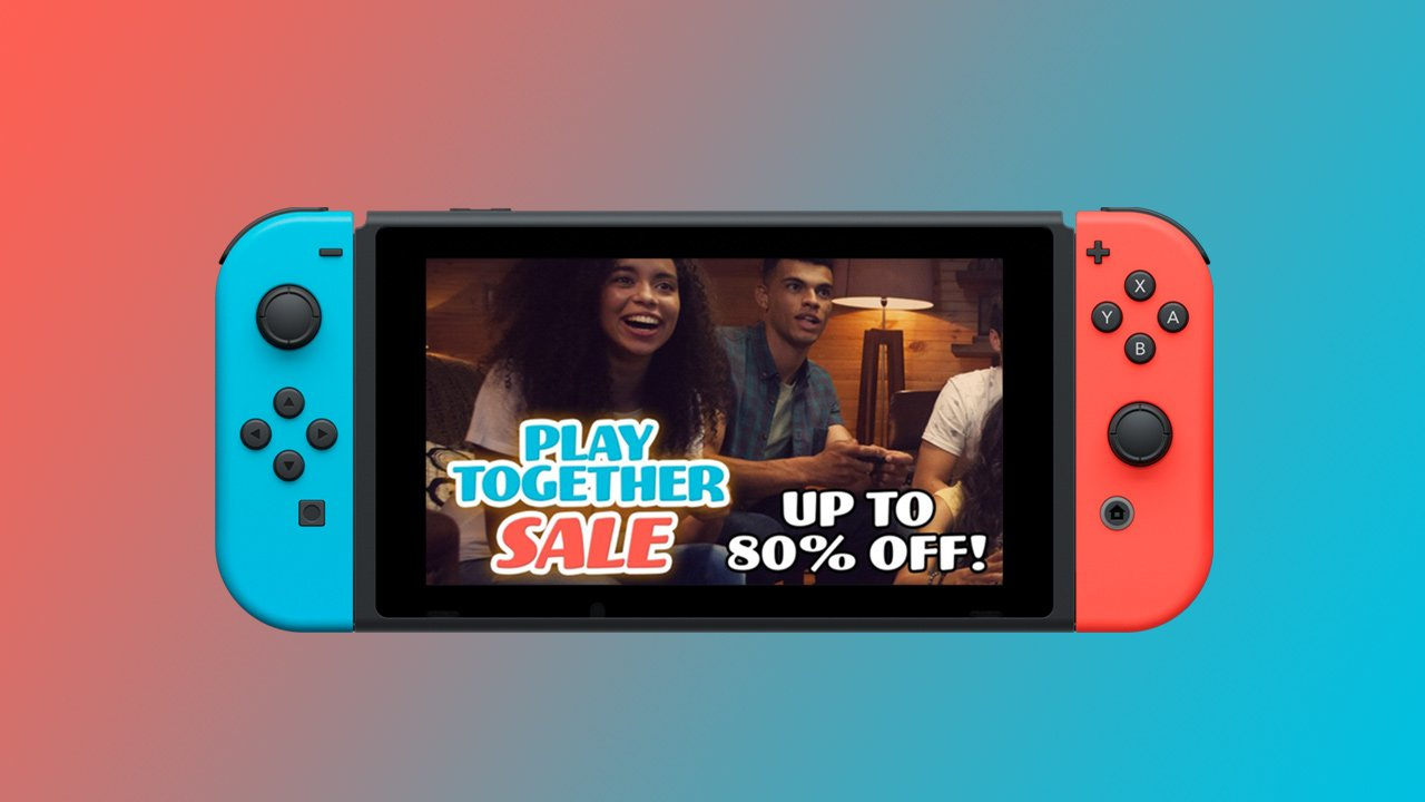 Last chance to save in the Nintendo Switch Play Together Sale
