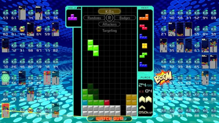 Tetris 99 screenshot