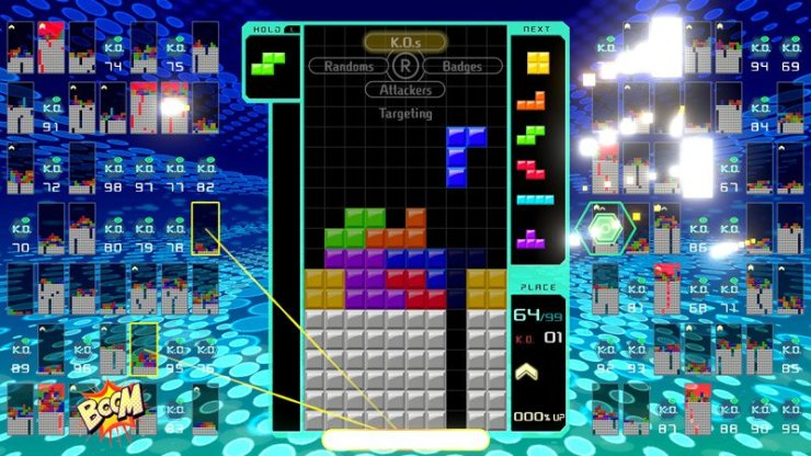 Tetris 99 screenshot
