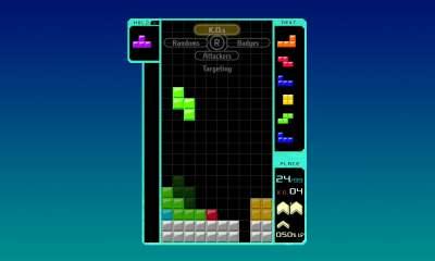 Tetris 99 - targeting
