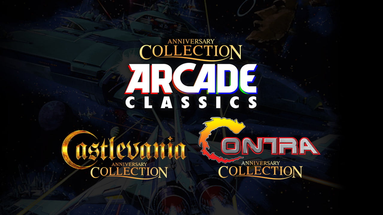 What games are on the Konami Anniversary Collections?