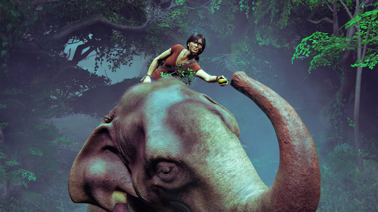 How design and story shaped Uncharted's elephant ride