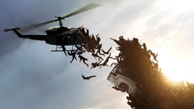 world war z movie helicopter