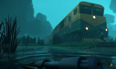 Pandemic Express zombie train