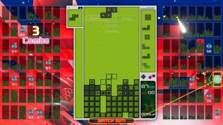 Tetris 99 Game Boy skin