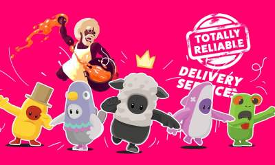 silly physics games e3 2019 fall guys rawmen, totally reliable delivery service