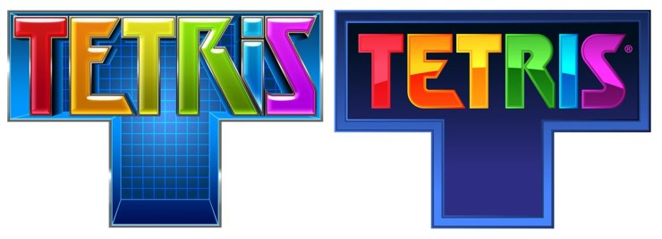 Tetris logo old and new