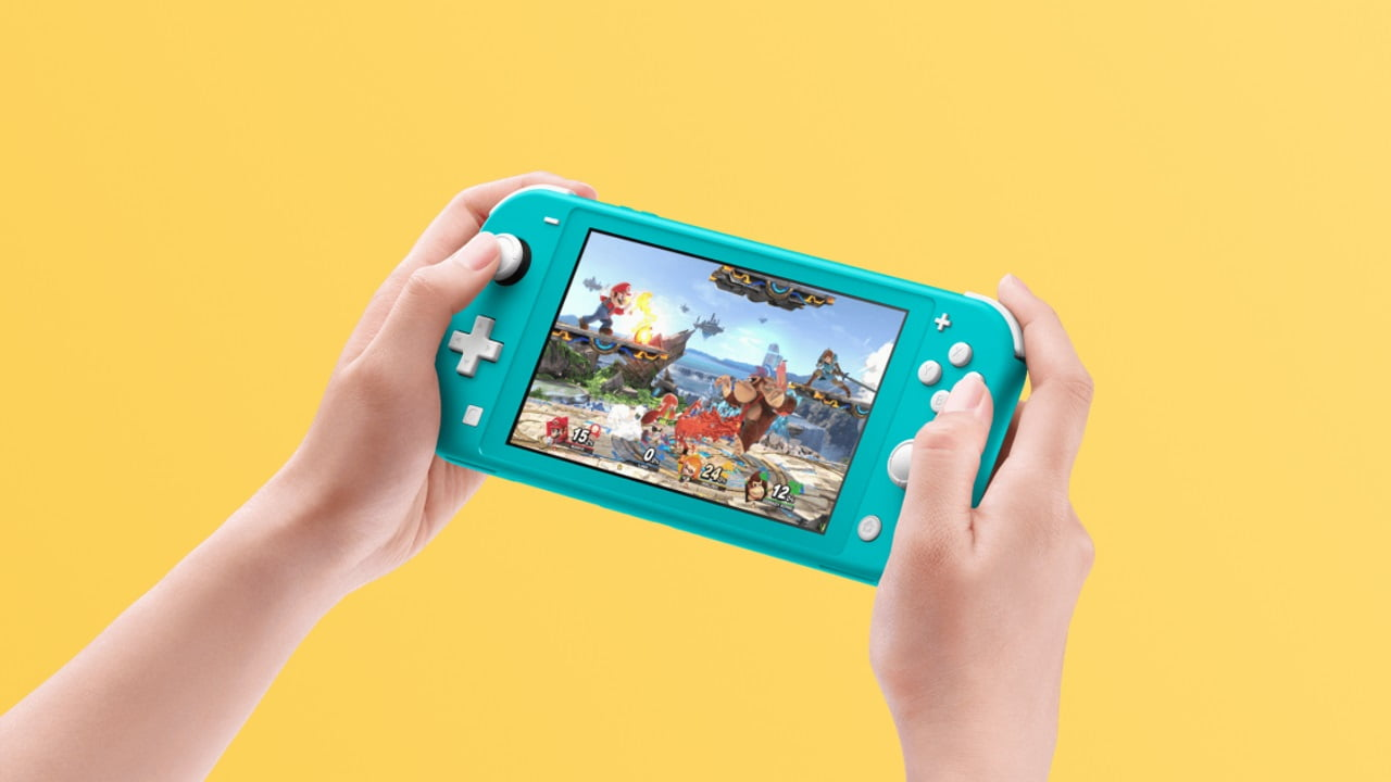 Non-switchable Nintendo Switch Lite handheld confirmed