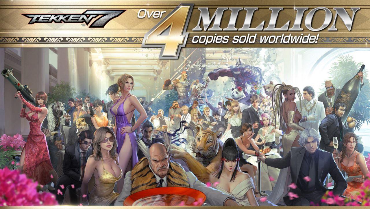 Tekken 7 claws its way to 4 million copies sold