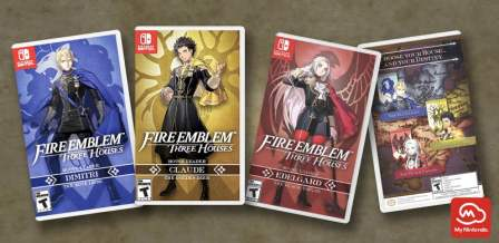 Fire Emblem: Three Houses - House cover art