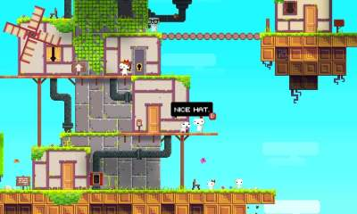 Fez free epic games store