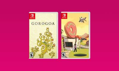 Donut County and Gorogoa - Nintendo Switch games