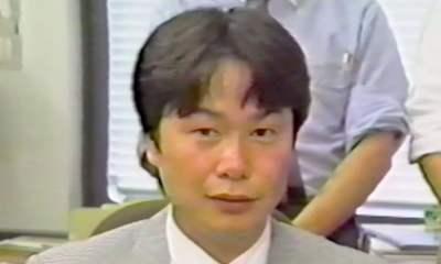 Shigeru Miyamoto young
