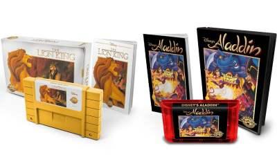 Disney's Aladdin and The Lion King