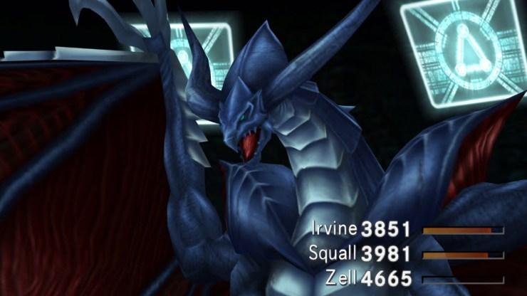Final Fantasy VIII remaster Bahamut Guardian Force
