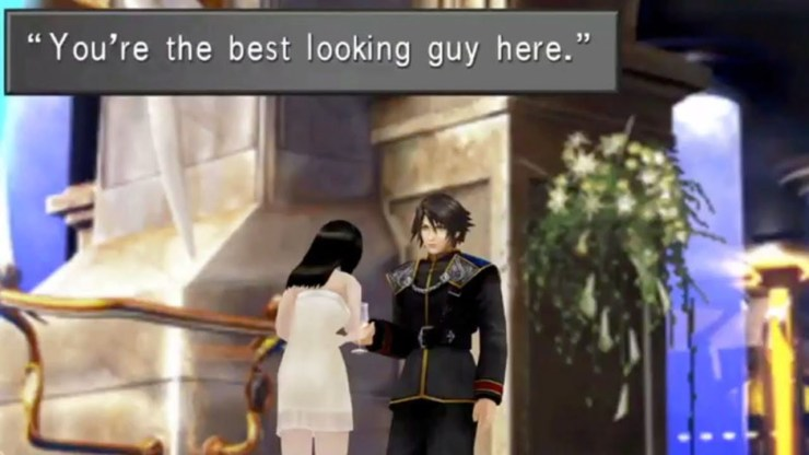 Final Fantasy VIII remaster best looking guy here