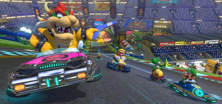 games of the decade Mario Kart 8