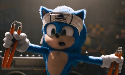 Sonic the Hedgehog movie redesign