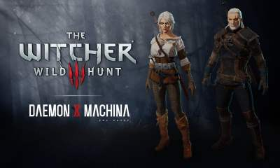 The Witcher 3 Daemon X Machina