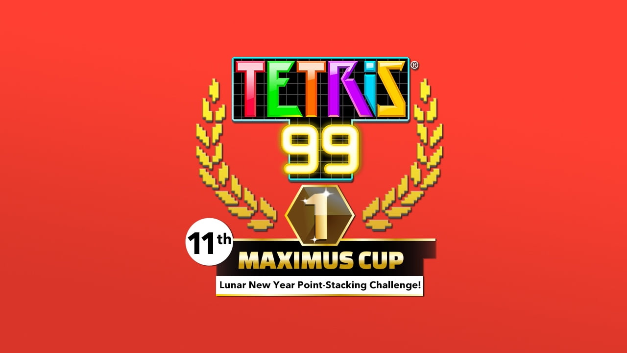 Points win prizes in this week's Tetris 99 event