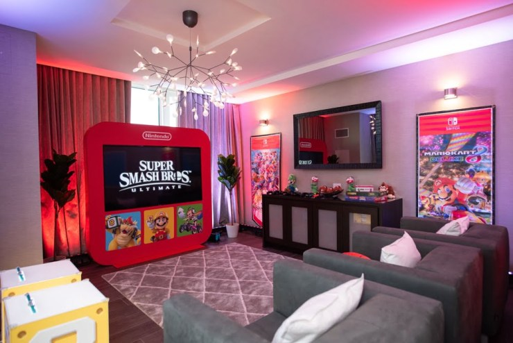 Nintendo Switch Suite - Hotel X Toronto