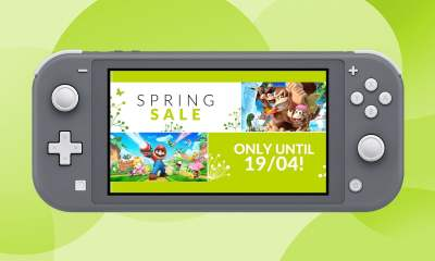 Nintendo Switch Spring Sale