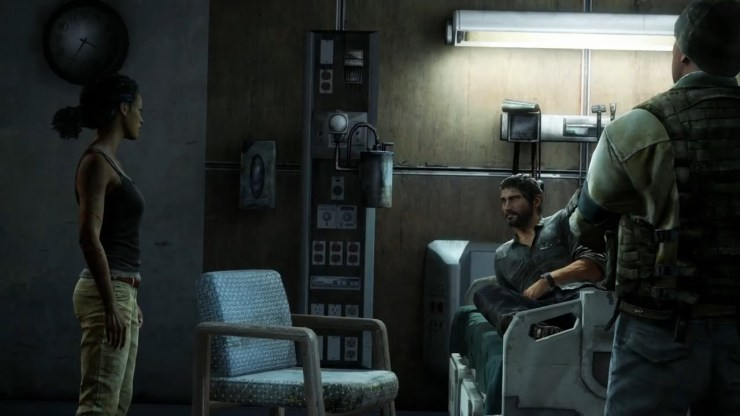 The Last of Us Joel Marlene hospital