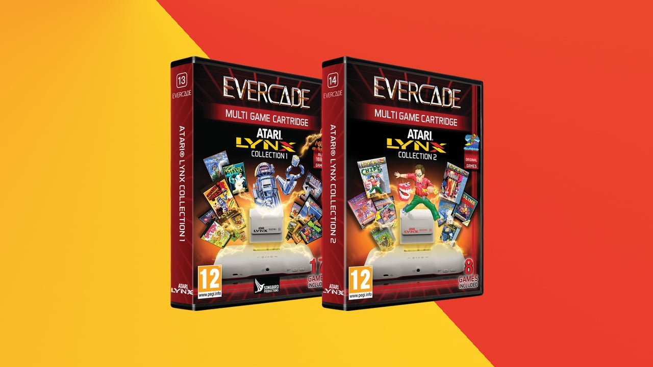 Pre-orders open for Evercade's two Atari Lynx collections