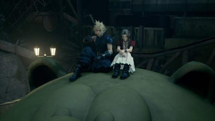 Final Fantasy VII Remake moogle slide