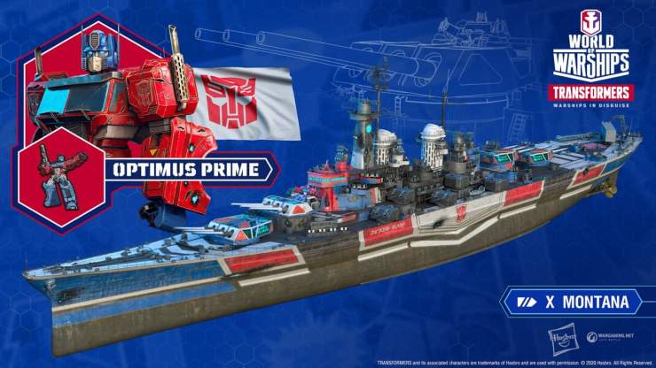 Optimus Prime - World of Warships