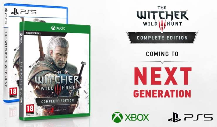 The Witcher III - PS5 and Xbox Series X announcement