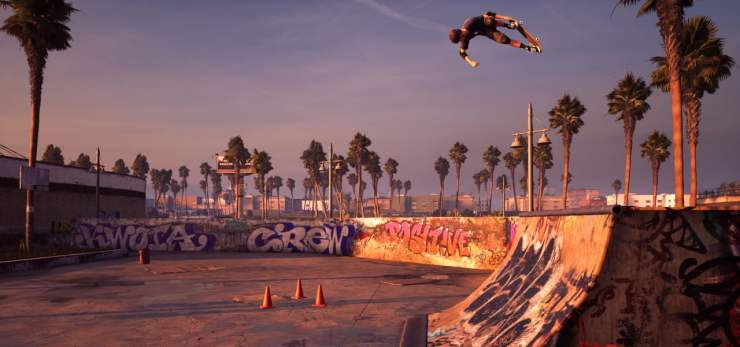 Tony Hawk's Pro Skater screenshot 2