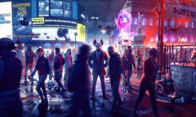 Watch Dogs Legion dystopian Britain