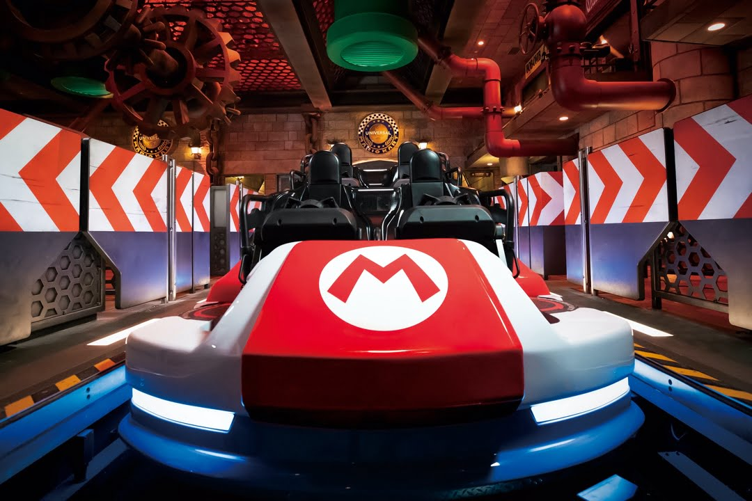 Super Nintendo World- Mario Kart Bowser's Challenge