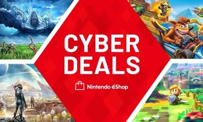 Nintendo eShop Cyber Deals Europe