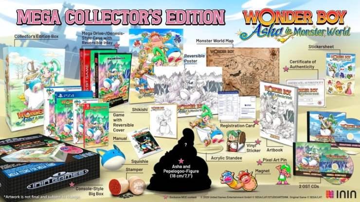Wonder Boy - Asha in Monster World Limited Edition