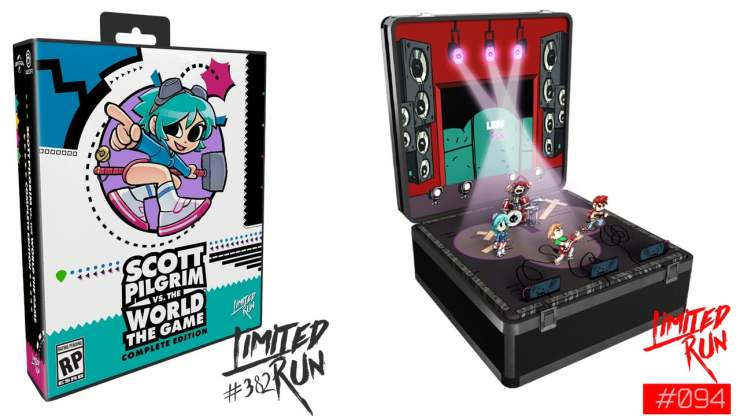 Scott Pilgrim vs. The World: The Game – Complete Edition - Limited Run Games
