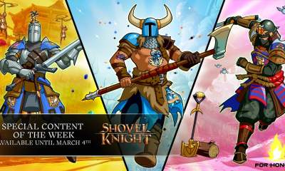 Shovel Knight For Honor