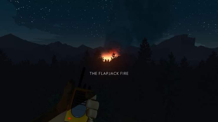 Firewatch the flapjack fire