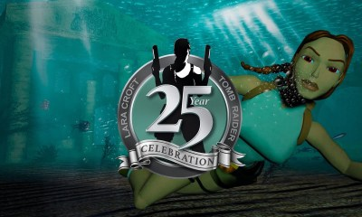 Tomb Raider 25th anniversary logo