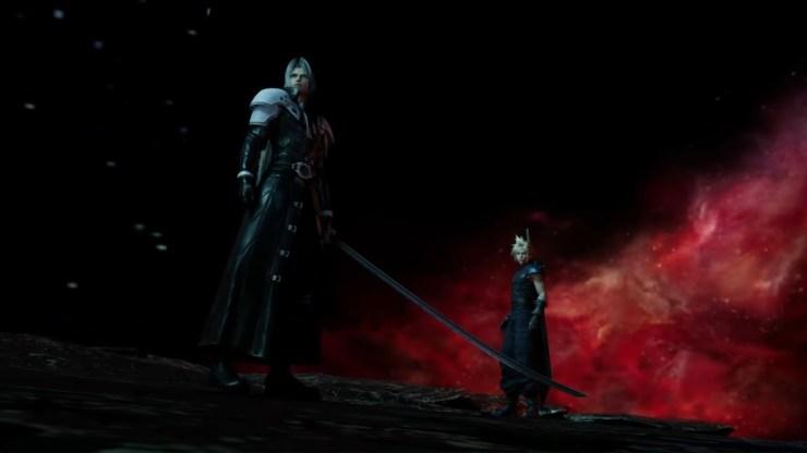 Final Fantasy VII Remake Sephiroth Cloud