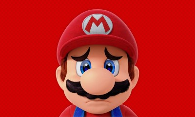 Sad Super Mario