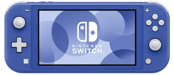 Nintendo Switch Lite Blue Color