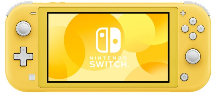 Nintendo Switch Lite Yellow Color