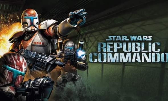 Star Wars: Republic Commando key art