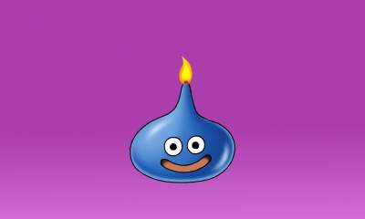 Dragon Quest 35th anniversary slime