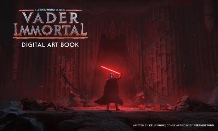 Star Wars Vader Immortal art book