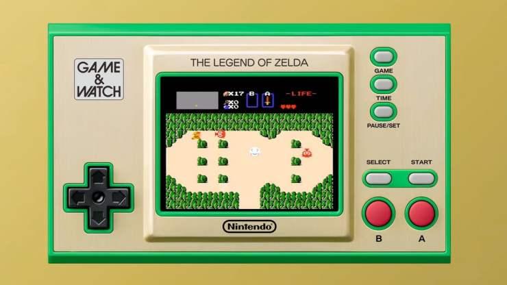 The Legend of Zelda Game & Watch - Nintendo E3 2021