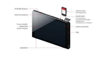Nintendo Switch OLED Model front