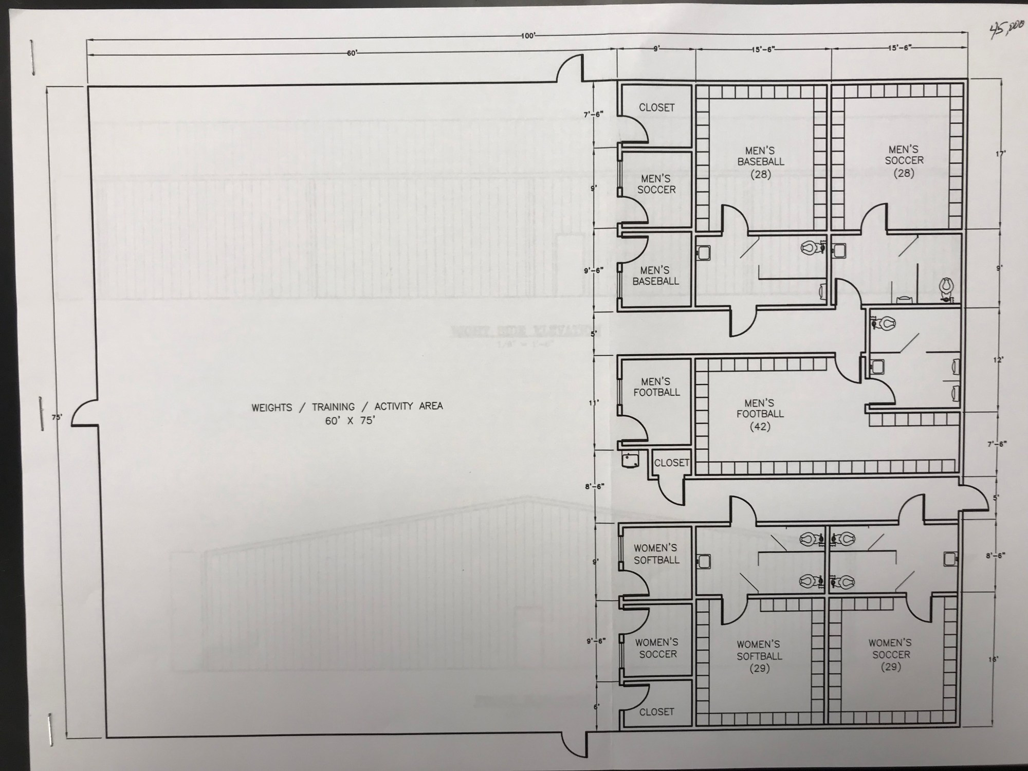 hight resolution of indoor practice facility approved for coffee co middle school